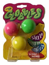 """New JUKERS TIKTOK CRAYOLA """"Globbles"""" 3 Pack Assorted Colors Pink Green Yellow"""