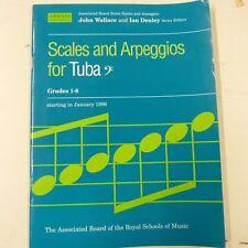 tuba SCALES and ARPEGGIOS Grade 1-8, 1996,  abrsm