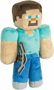 "Jinx Minecraft Steve 12"" Plush Toy Officially licensed plush toy 30cm"