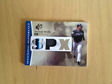 Vernon Wells 2008 Upper Deck SPX Game Used Patch Card 28/50