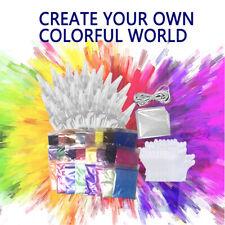 3/12/24 Colors Tie Kit Arts Design Fabric Tye Dye Art Craft Textile Paint Tool