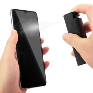 Portable Phone Screen Cleaner 2 in1 Microfiber Cloth Set Computer Screen Cleaner