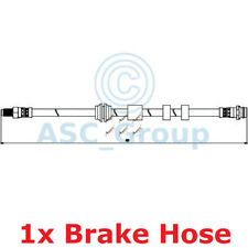 Apec BRAKING 415mm Scheibe Bremssattel Flexibel Gummischlauch Hos3837