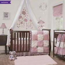 New The Peanutshell Bella 6 Piece Crib Set Infant Baby Girl Nursery Bedding