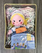 Disney It's A Small World Holland Doll in Collector Tin Singing Johanna Vintage