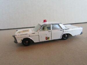 650Q Vintage Matchbox Series 1:75 No 55c England Ford Galaxie Police USA 1:64