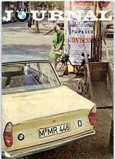 BMW Journal Vol 2 No5 January 1963 German Market Brochure 700 1500
