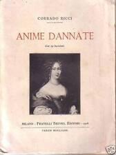 ANIME DANNATE Corrado  Ricci  Treves  1920