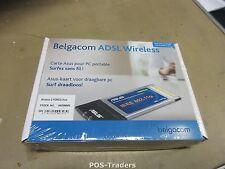 BELGACOM ASUS WL-107G IEEE802.11g Wireless Cardbus Adapter 54Mbps NEW NEU IN BOX