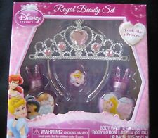 DISNEY Royal Beauty Set Bath Lotion Tiara nib