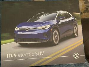 2021 Volkswagen ID.4 Electric SUV Folder/Brochure