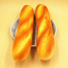 New French Baguettes Jumbo Keyboard Hand Pillow Scent Loaf Bread Toy cn