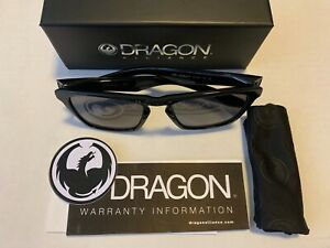 "DRAGON ""DRAC LL"" BLACK LUMALENS SMOKE"