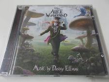 ALICE IN WONDERLAND - 2010 SOUNDTRACK CD (5099962854429) - NEU - DANNY ELFMAN