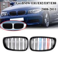 Para BMW 1 Series E81 E82 E87 E88 2004–2011 M Tira Moldura Cubierta de rejilla de la parrilla de color