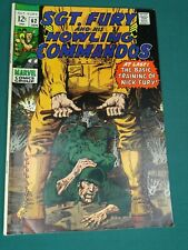 MARVEL COMICS GROUP SGT. FURY AND HIS HOWLING COMMANDOS #62 1/1969 AWESOME COPY!