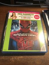 The Amazing Spider-Man (3-Disc Combo Blu-ray + DVD Ultraviolet) New Sealed HD