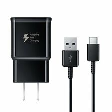 Samsung Fast Charger and USB Type C Cable for Galaxy S8 & S9