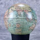 c 1921 Weber Costello 12 inch World Globe