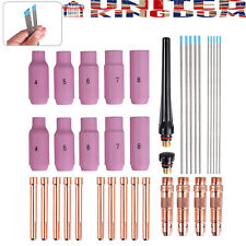 36X Tig Wear Parts Set for Welding Wp-Torch Spares Consumables Plasma Accessory