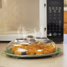 2017 Food Splatter Guard Microwave Hover Anti-Sputtering Cover with Steam Vents