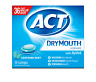 ACT Dry Mouth Lozenges Soothing Mint 36 Count Soothing Mint Flavored Lozenges to