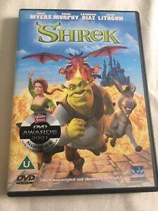 Shrek DVD (2001) Mike Myers cert U DVD
