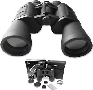 12x50 Black Binoculars ~ High Quality Optics 12 x 50 - Birdwatching  Astronomy