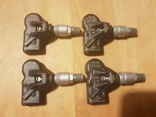 4x Rdks TPM pneus Capteurs de pression valve en caoutchouc pour Porsche Cayenne 2012-08//2014