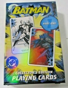 Batman Part One Collectors Edition Playing Cards