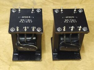 GEC Audio Output Transformers S.E. 3.2K - 7.5 / 15 OHMS PX4 PX25 2A3 RE604