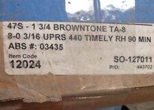 TIMELY DOOR FRAME BROWNTONE 3-0x8-0 47S RH 440xTS  90M