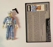 GI Joe ARAH 1987 Hardtop Action Figure Complete C9 With Uncut File Card