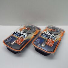 2X GILLETTE FUSION PROGLIDE POWER RAZOR WITH FLEXBALL - 1 RAZOR + 1 BLADE (H300)