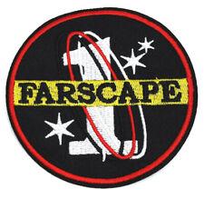 "Farscape Télévision Séries 1 Logo Brodé 3.5 "" Patch USA Mailed (FSPA-001)"
