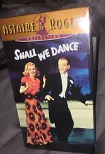 Shall We Dance (VHS, 1999, Astaire & Roberts Collection) New Sealed Rare