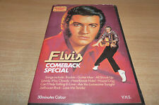 ELVIS COMEBACK SPECIAL VINTAGE UNCLASSIFIED VHS - 1982 FIRST VIDEO EDITION