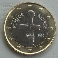 1 Euro Zypern 2008 unz