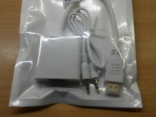 Da HDMI a VGA & Audio Convertitore Adattatore Video Cavo Raspberry Pi 2 Bianco