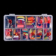 540Pz 27 Colori French False Gel acrilico per unghie artistiche Metà con scatola
