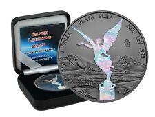1 OZ Silber Libertad 2021 Mexico Black Holographic Edition in Box