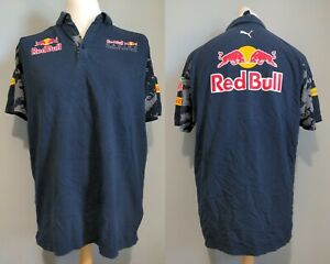 Red bull Racing Large T Shirt Pirelli Tag Heuer AT&T Rauch