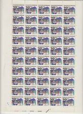 Czechoslovakia  Full Sheet 50 Stamps Kat. Nr. 2082 y cv. 350 €