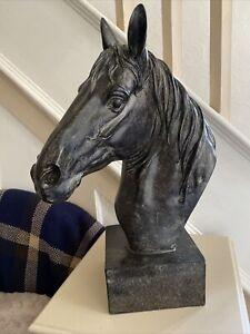 Large Horse's Head Sculpture Statue Figure Home Decor