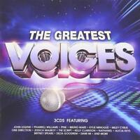 GREATEST VOICES 3CD ~ HITS BY Whitney Houston,Sade,Little Mix,Cyndi Lauper, Etc