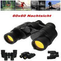 60X60 Militär Fernglas HD Jagd Nachtsicht Zoom Teleskope 3000M Fernrohr  *