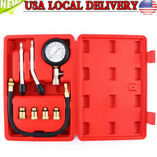 Pro Petrol Gas Engine Cylinder /Compression Tester Gauge Kit FOR  Motor Auto Car