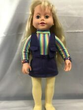 """Amazing Talking Ally Doll Talks And Mouth Moves 18"""" Tall (No Accessories)"""