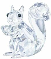 New in Box Swarovski Crystal Living Squirrel Clear Crystal #5135941