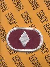 US Army 44th Medical Brigade Airborne para oval patch m/e